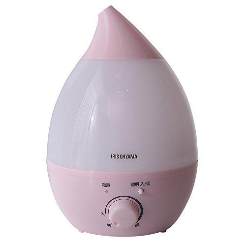 アイリスオーヤマ 超音波加湿器 2.8L ピンク PH-U28-P