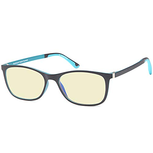 TRUST OPTICS Blue Light Blocking Glasses - Amber Tint Blue Filter -Not Magnified