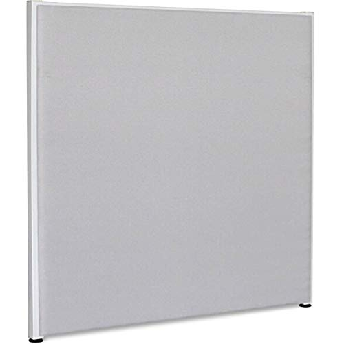 Lorell Fabric Panel, Gray, 60 by 60-Inch