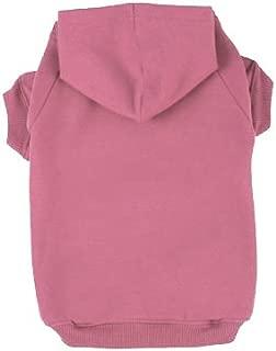 BINGPET Blank Basic Cotton/Polyester Pet Dog Sweatshirt Hoodie