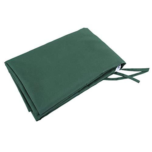 196x110cm Garden Rainshed Swing Chair Cover Oxford doek vervangende luifel groen