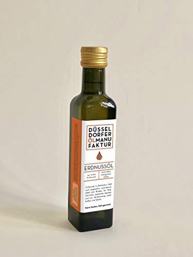 Düsseldorfer Ölmanufaktur - Bio-Erdnussöl kaltgepresst nativ 250 ml / DE-ÖKO-039
