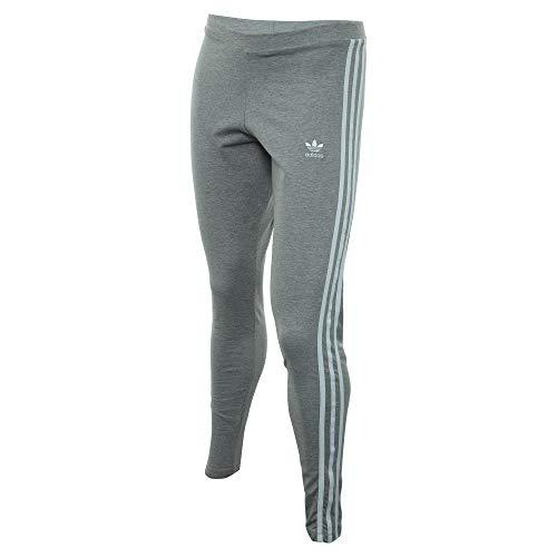 adidas Originals Women's 3-Stripes Leggings, Medium Grey Heather, X-Small