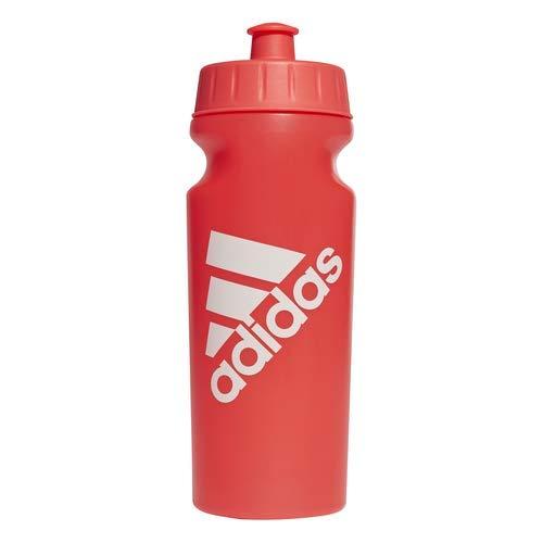 adidas Performance - Botella de 500 ml Mixta, Color Shock Red/Shock Red/Raw White, tamaño Talla única