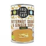 Free & Easy Sopa de calabaza y jengibre, 400 g, 6 unidades