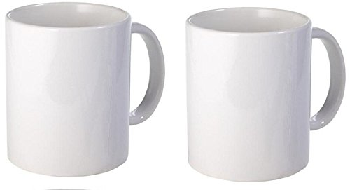 White Plain Coffee Mug