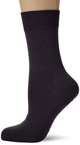 KUNERT Damen Soft Wool Cotton Socken, Blau (Marine 0350), 39/42