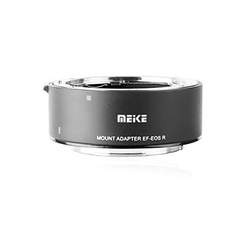 Meike - Adaptador de lente de metal EF-EOSR compatible con montura completa y convertidor de enfoque automático para Canon EF lente a EOS-R EOS-RP R5 R6 y cámaras Komodo RED