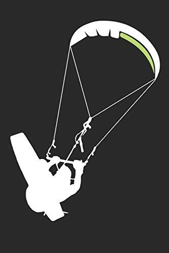 Kitesurf Notebook: 9x6inch Kitesurf Notebook Dot Grid