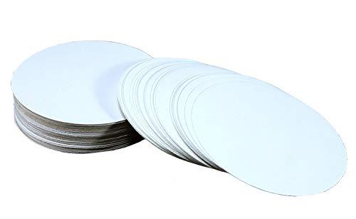 eSplanade Sottobicchiere disponibile con carta spessa per bar, hotel, scopo ristorante e feste (set di 100) 9,5 cm (3,5 pollici) Beige