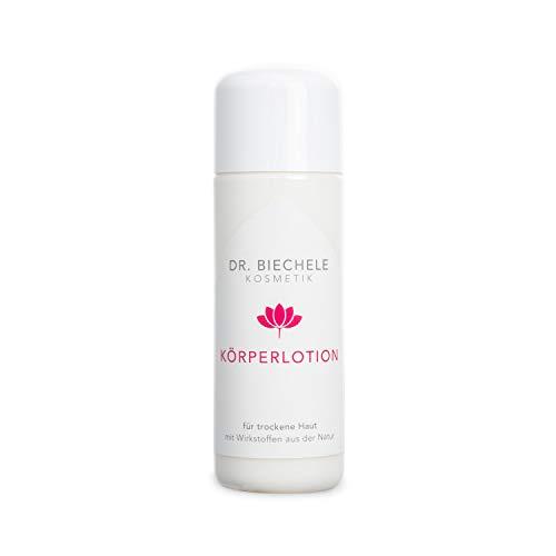 Dr. Biechele Körperlotion I Reichhaltige Bodylotion trockene Haut 150 ml I Feuchtigkeitscreme für empfindliche Haut I Feuchtigkeitslotion gegen juckende Haut I Hochwertige Kosmetik Pflegeprodukte