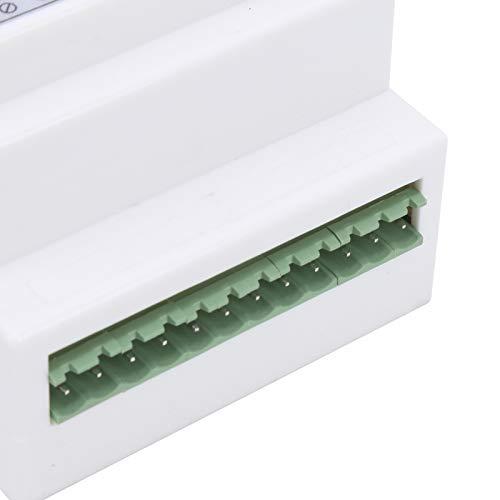 SALUTUY Monitor de Temperatura Remoto, Sistema de automatización Alarma de Falla de energía Detector de Temperatura Sin limitación de Distancia para la división de Productos inflamables de almacén