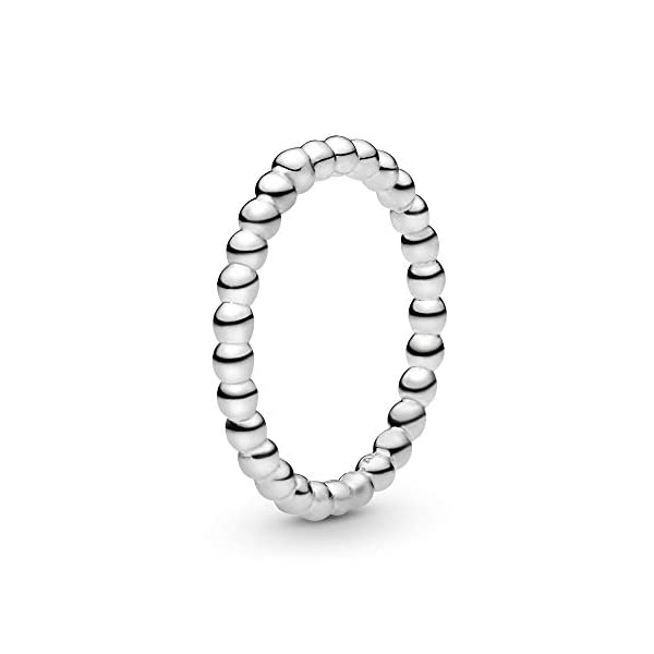 Pandora Jewelry Beaded Ring Sterling Silver Ring, Size 7