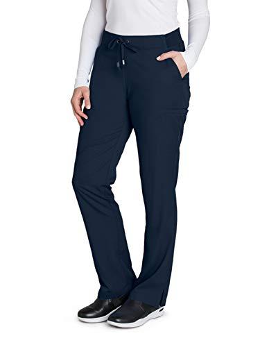 Grey's Anatomy 4277 Women's Straight Leg Scrub Pant Steel M