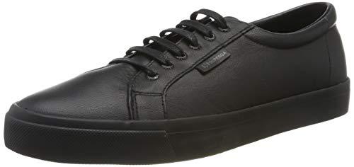 Superga Unisex-Erwachsene 2804 NAPPAU Sneaker, Schwarz, 40 EU