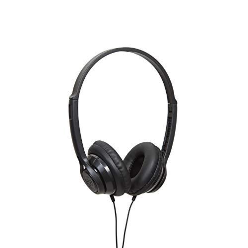 Wicked Audio Clutch Noir Supraaural Bandeau Casque - Casques (Supra-aural, Bandeau, avec Fil, 20-20000 Hz, 1,2 m, Noir)