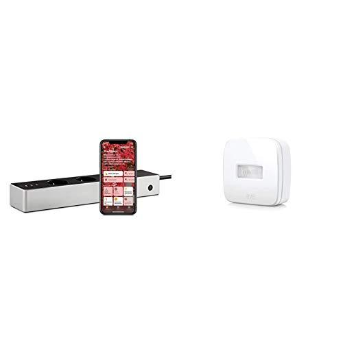 Eve Energy Strip - Smarte Dreifach-Steckdosenleiste mit Verbrauchsmessung, WiFi (2,4-GHz-Band), Apple HomeKit & Motion - Smarter Bewegungssensor mit IPX3-Wasserbeständigkeit