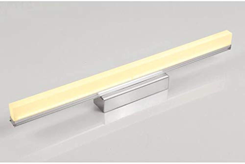 ZTMN Pride S LED Badezimmerspiegelleuchten Energieeffizienzklasse A + (Farbe  Warm-Wei-14W-59cm)