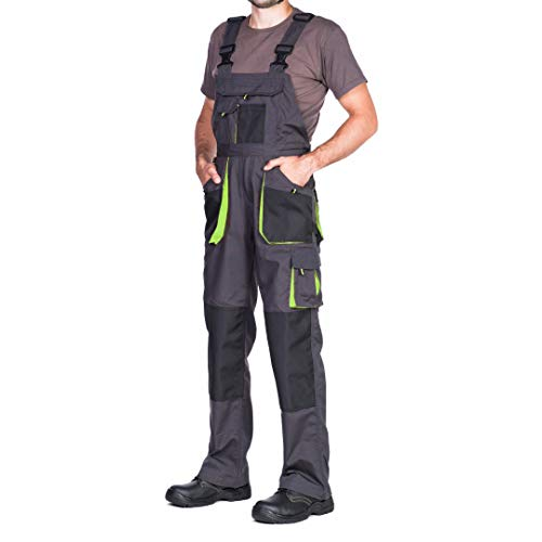 Mazalat Men's Bib and Brace Overalls