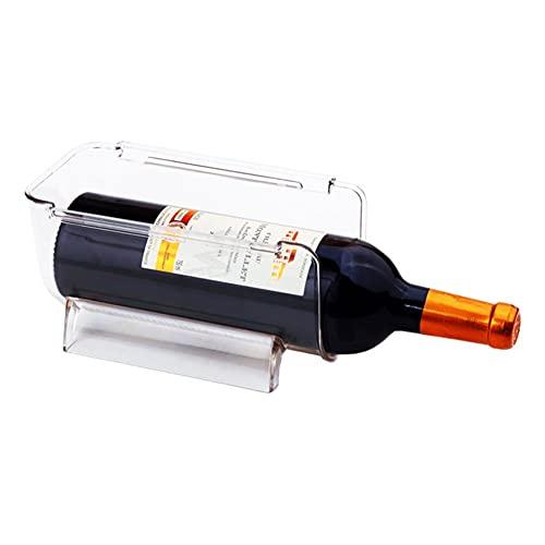 ZYQ 6 Piezas Soporte Organizador de Botella de Agua de Vino Independiente Estante de Vino apilable de Mesa de encimeras de Cocina (Size : 207 * 115 * 106 mm)