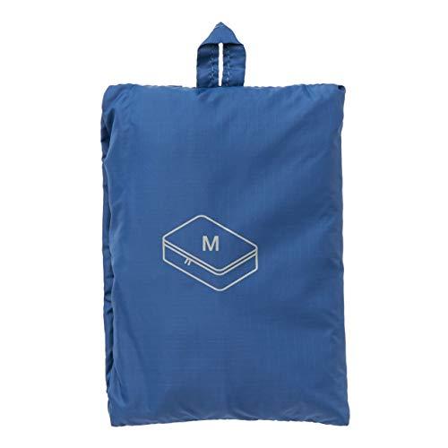 MUJI - Gusset Case M Blue