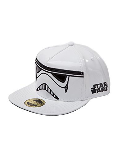 Bioworld - Star wars - Stormtrooper inspired snapback adjustable white (casquette)