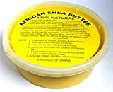 Raw Unrefined African Shea Butter 8 Oz Gold AAA Premium Shea Butter From Ghana - Use on Acne, Eczema, Stretch Marks, Rashes - Use As Belly Butter to Keep Mommy's Skin Soft and Supp (8 OZ GOLD)
