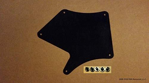 Set of Four Splash Shields With Clips For Toyota Tacoma 2005-2020 4.0 V6 B Fender Liners, Aprons, Shields, Splash Guards, Skirts, Guards, Seals, Splash Seals