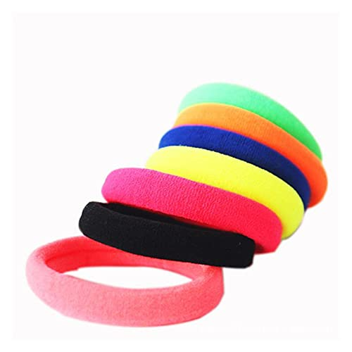 10 unids Accesorios para el Cabello sólido para Las Mujeres Diadema Banda elástica Corbata para el Cabello para Las niñas Adornos de Pelo para niños para niños (Color : Army Green)