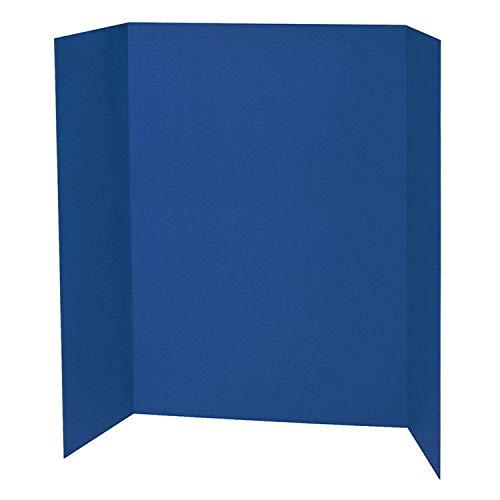 Spotlight 1 Ply Trifold Display Board, 48' Width x 36' Height, Blue