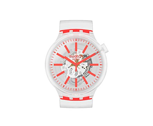 Swatch Big Bold Armbanduhr Orangeinjelly SO27E102