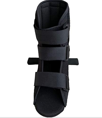 Orthopedic Walker Brace Walking Boot Low Top Non-Air Walker Ankle, Toe, Foot Fracture Boot Plantar Fasciitis (Small)