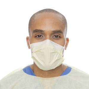 HALYARD Procedure Mask, w/SO Soft Earloops, 47117 (Box of 50)