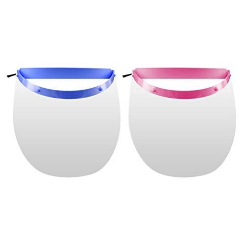 EXCEART 4Pcs Protector Facial de Seguridad Protección para Los Ojos Y La Cara Cubierta Facial Completa Protector Facial Transparente Equipo de Protección Personal ✅