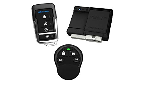 Excalibur RS370 1-Way Paging Remote Start/Keyless Entry/Vehicle Security System (with 4 Button Remote and Sidekick Remote), 1 Pack