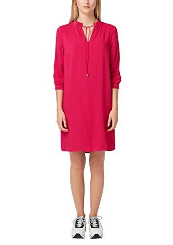 s.Oliver Damen 14.908.82.7532 Kleid, Rosa (Pink 4436), (Herstellergröße: 36)