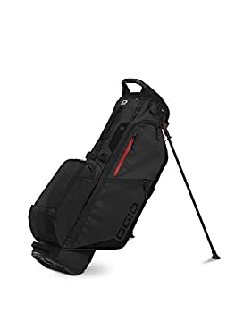 OGIO 2020 Fuse 4 Stand Bag  Black Stealth Double Strap