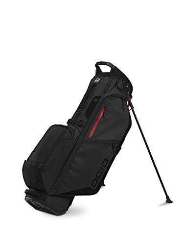 OGIO 2020 Fuse 4 Stand Bag (Black Stealth, Double Strap)