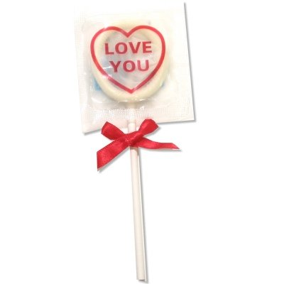 Global Protection Love You Condom Pops: 6-Pack of Condoms