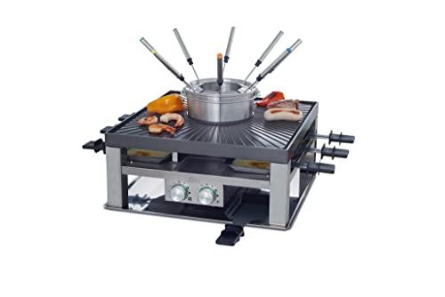 Solis Raclette, Tischgrill und/ oder Fleischfondue