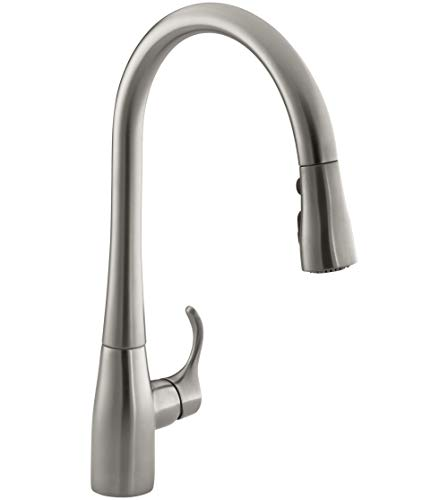 Product Image of the KOHLER K-596-VS Simplice Kitchen Faucet, Vibrant Stainless