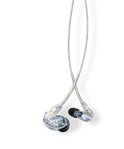 1. Shure SE215-CL Sound Isolating Earphones
