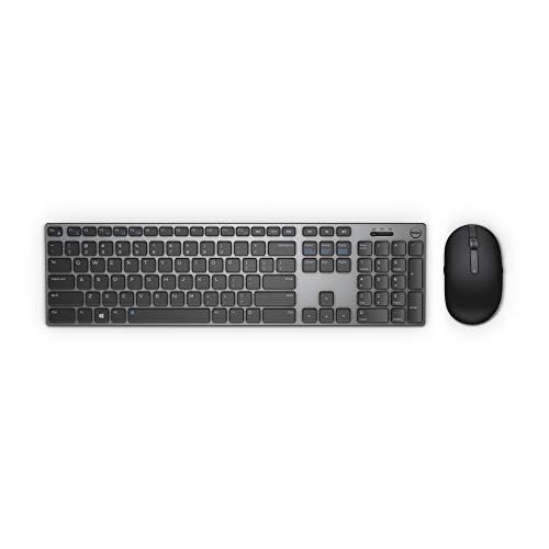 Dell KM7321W, Wireless, Premier, Tastatur und Maus Set, German (QWERTZ), schwarz