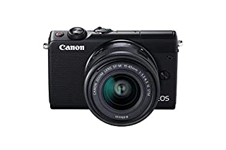 Canon EOS M100 SLR Digitalkamera (24,2 MP, Dual Pixel CMOS AF, DIGIC 7, Full HD, Touchscreen, WIFI, Bluetooth) schwarz (B076D2M8X1)   Amazon price tracker / tracking, Amazon price history charts, Amazon price watches, Amazon price drop alerts