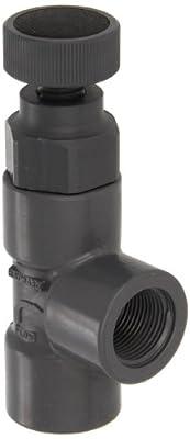 "Hayward PVC Globe Valve, FPM Seal, 3/4"" Threaded by Hayward"