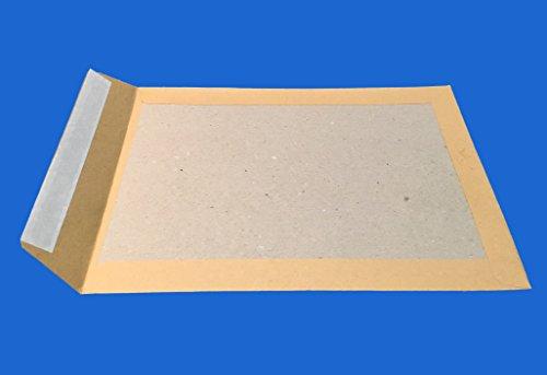 20 DOS-Shell RIGID PAPPT A4 BROWN C4 229 x 324 für Kartenumschlag zu senden, ohne die Rückklapp