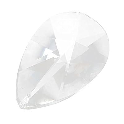 76mm Teardrop Crystal Prisms #873-76