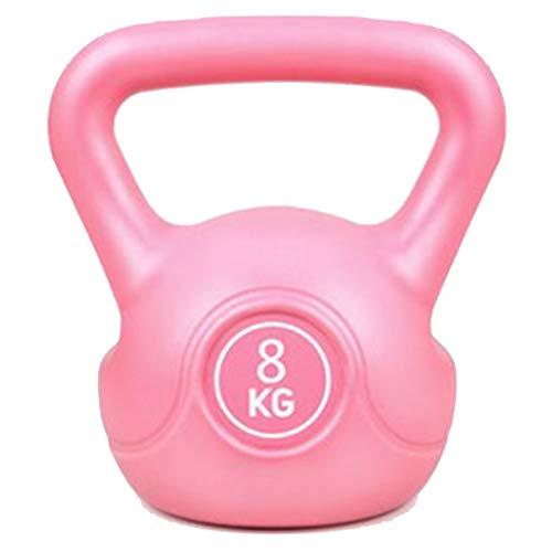 lahomia Attrezzatura Professionale per L'allenamento del Corpo in Gomma Kettlebell - 4kg