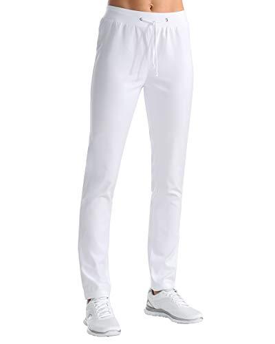 CLINIC DRESS Leggings Leggings Damen Strickbund weiß 44
