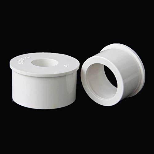 Zent 20/25/32/40 / 50mm Anello variabile Misura per Tubi di Alimentazione in PVC Rinforzo Nucleo Diametro variabile Giunti per Tubi, da 50mm a 25mm